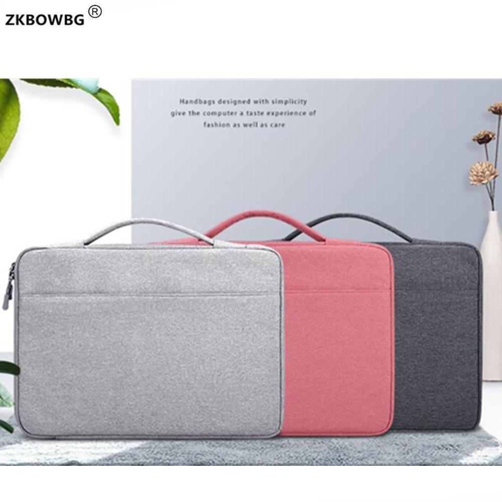 Maletín bolsas impermeable de los hombres de las mujeres bolsa de portátil para Lenovo Ideapad 320, 330, 520, 15,6, 330s 14 530 S540 S340 15 pulgadas portátil bolso