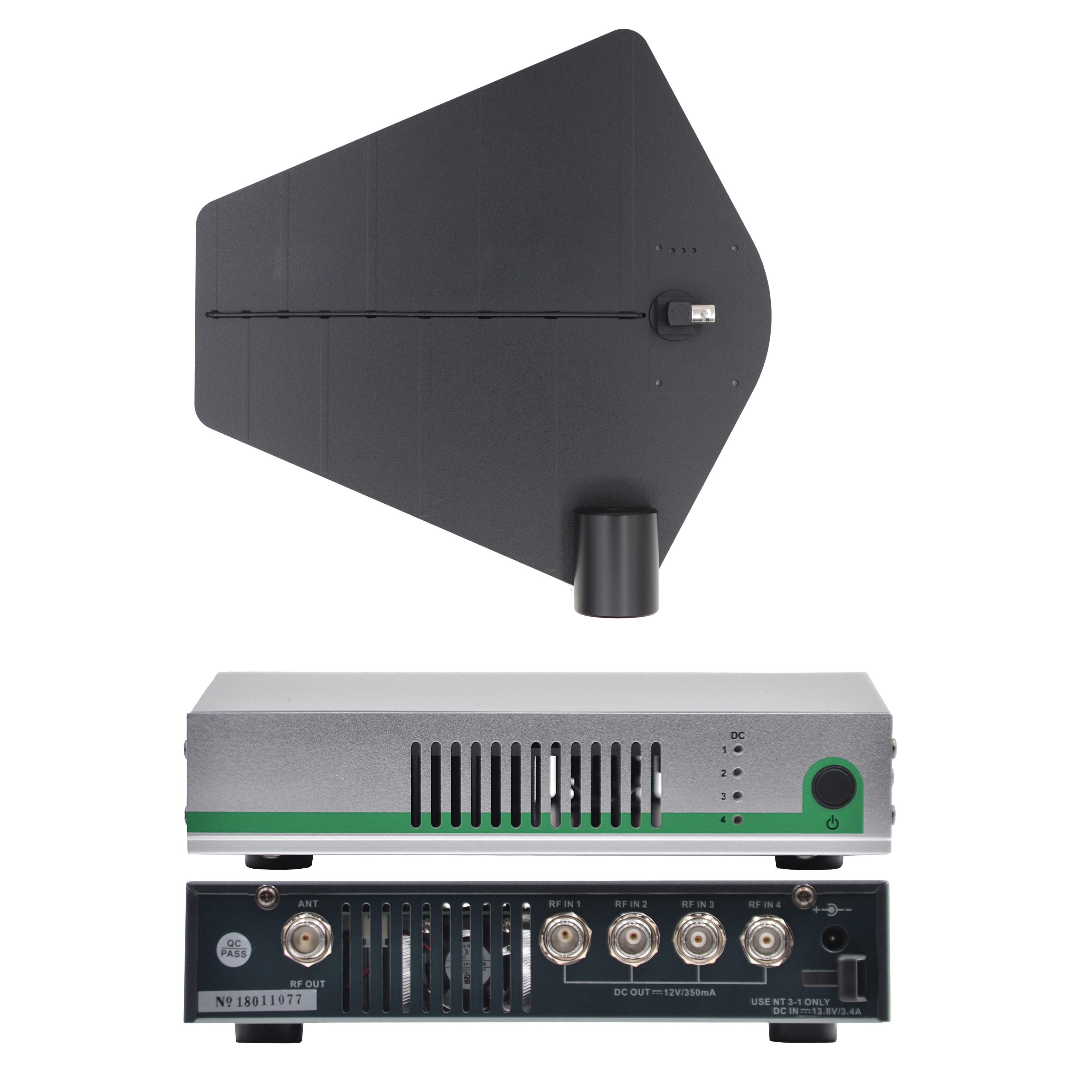 Betagear نشط هوائي الموحد AC10 في نظام مراقبة الأذن توزيع المهنية مكثف إشارة مكبر للصوت محسن