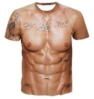2021 new mens 3dt shirt high quality t shirt fitness muscle short sleeve print mens t shirt fashion cool casual t shirt