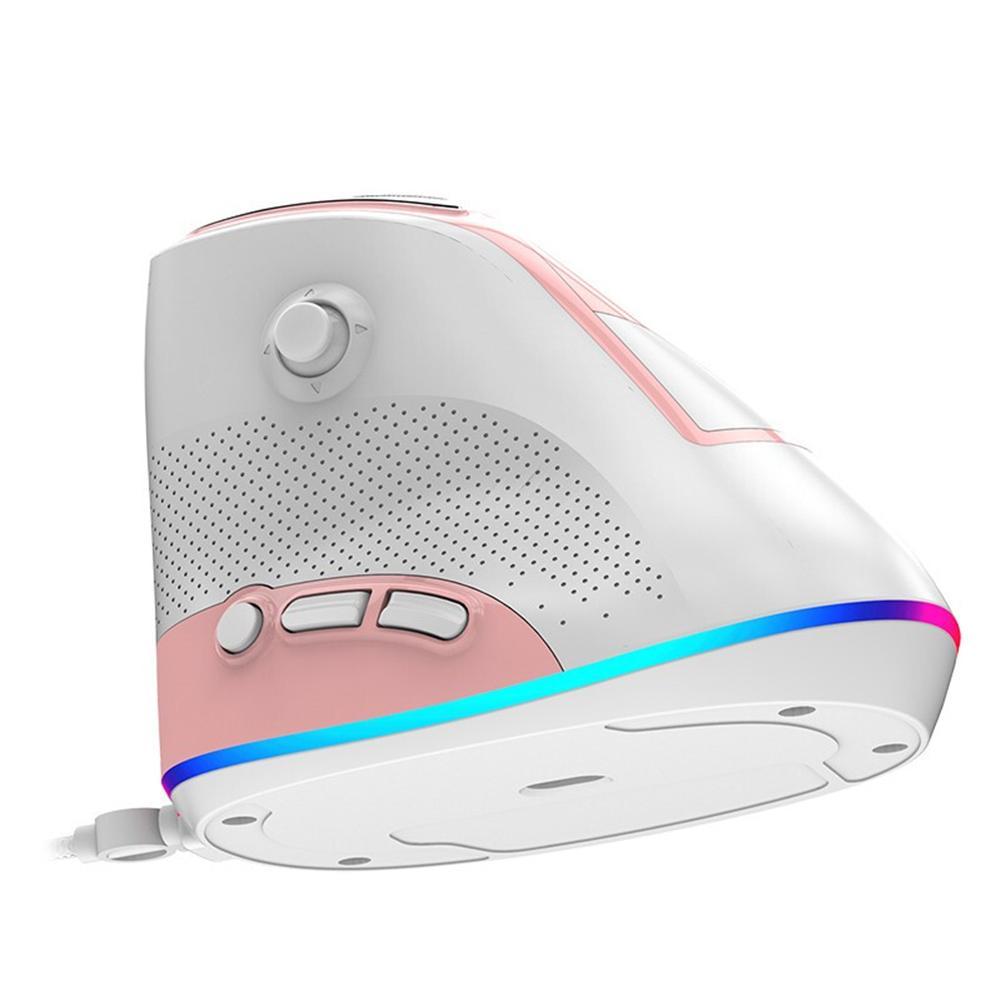AJ307 ratón con cable 4800DPI cable USB ajustable óptico ratón ergonómico adecuado para mouse portátil
