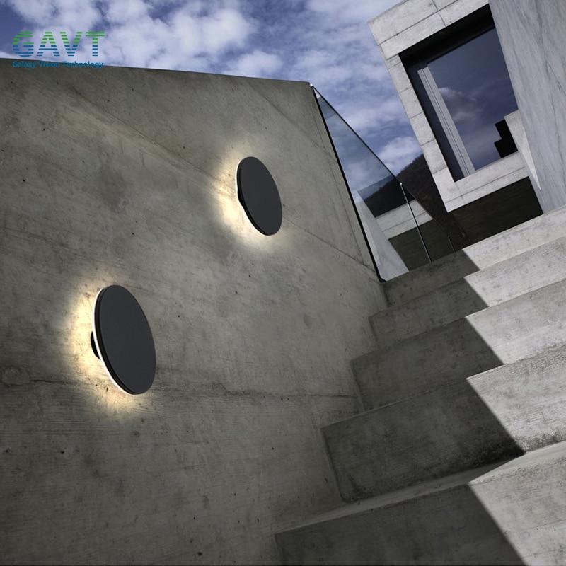 مصباح جداري Led خارجي ، مقاوم للماء ، IP65 ، شرفة ، إضاءة خارجية