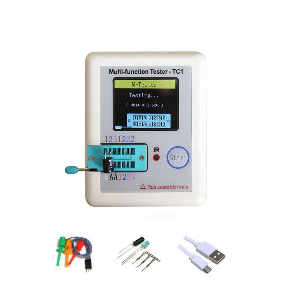 Многофункциональный тестер транзисторов, фотографический полноцветный дисплей с аккумулятором TFT, измеритель емкости диодов и триодов