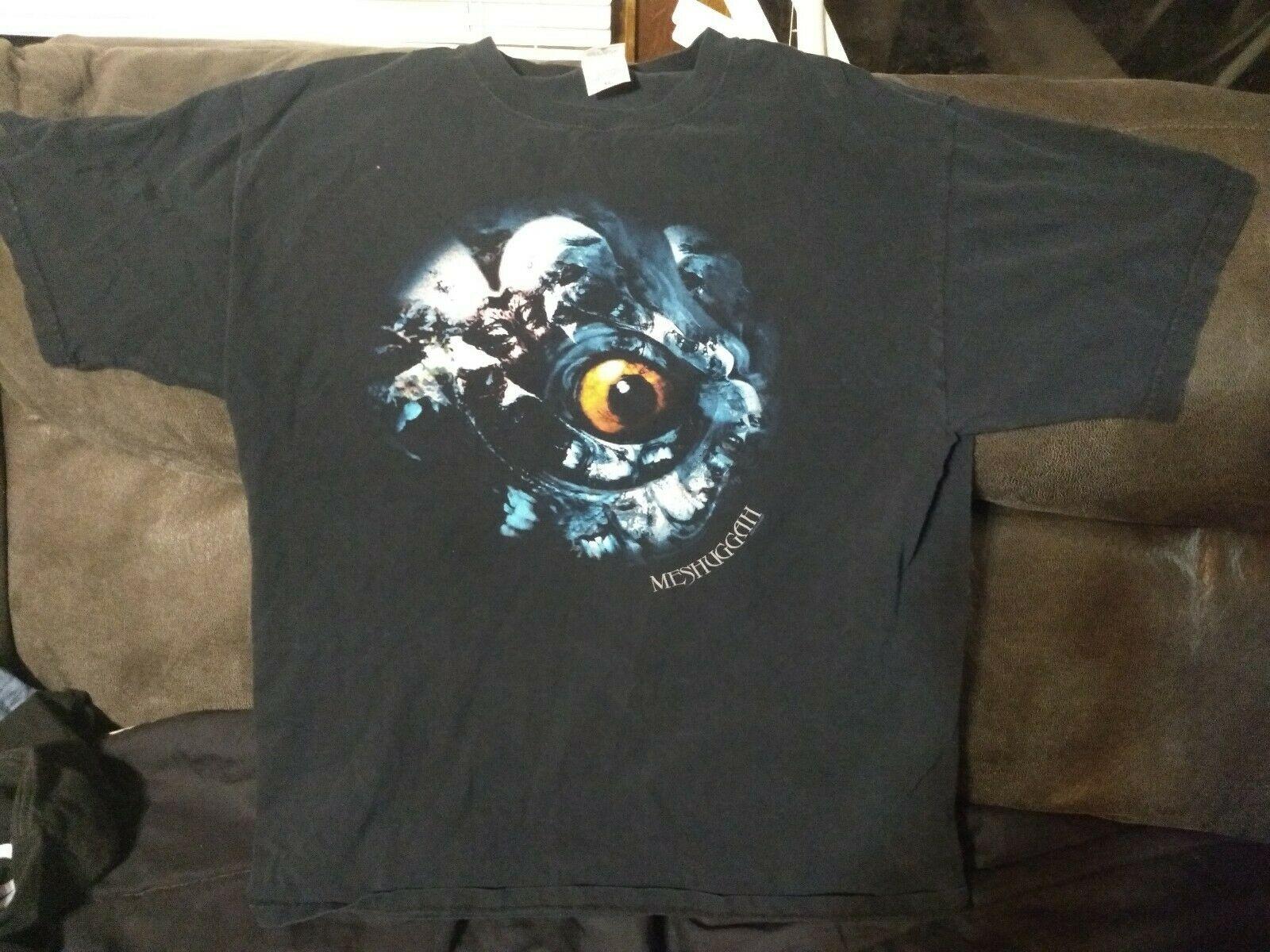 Meshuggah deviantスウェーデンオーディオi目シャツ 2005 大djent prog金属