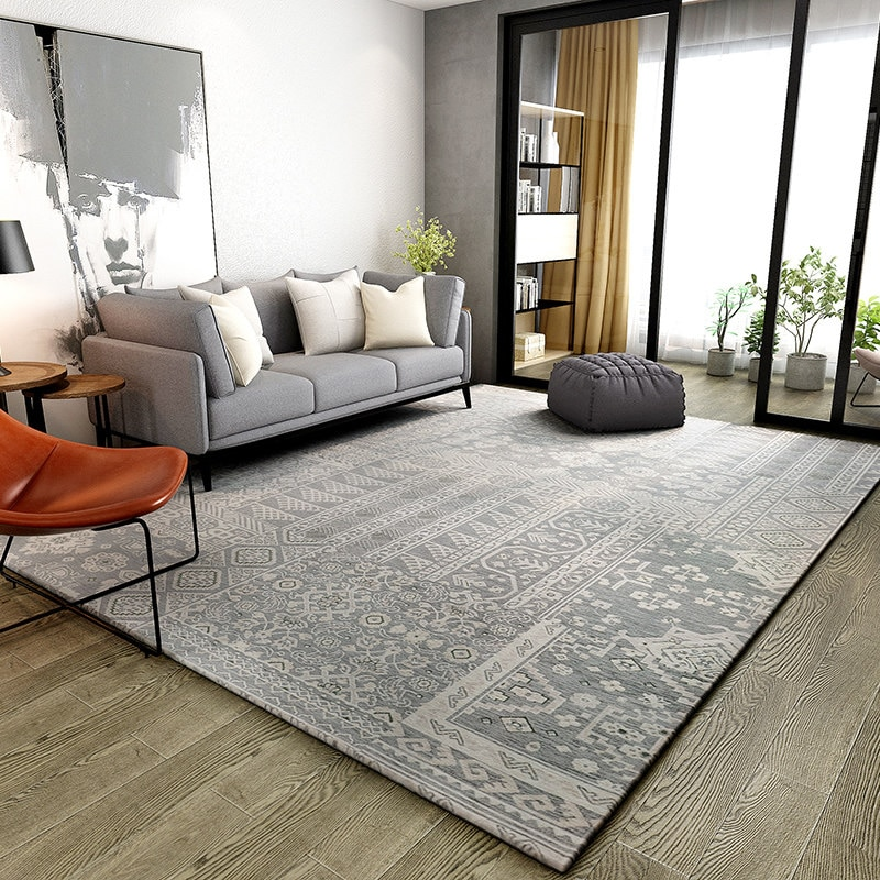 table basse tapis de sol bref tapis