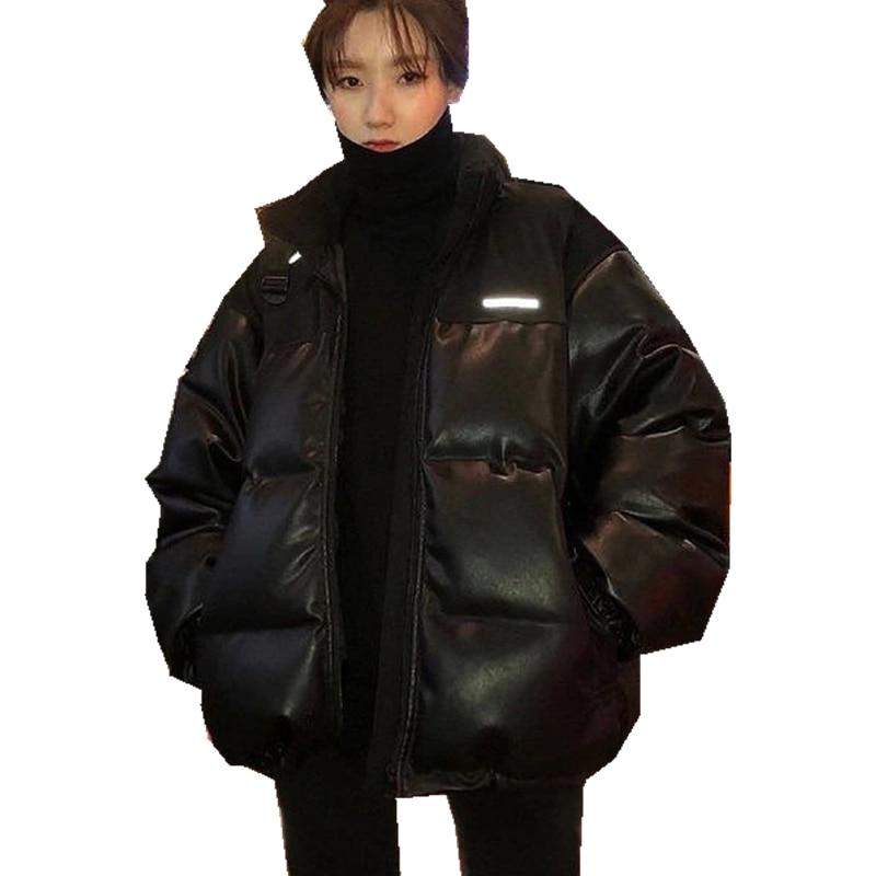 Cotton Coat Female Fashion Casual Loose Jacket Women Winter 2020 New Style Zipper Clothing