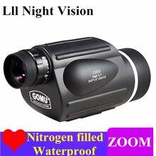 High Power HD Telescope Monocular 10-30X50 Zoom Bird Watching Waterproof Binoculars Lll Night Vision High Quality For Hunting