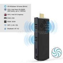 W5 Pro Mini Computer Stick Windowns 10 Mini PC I-ntel A-tom Z8350 4GB DDR 64GB eMMC Support 4K 2.4G/