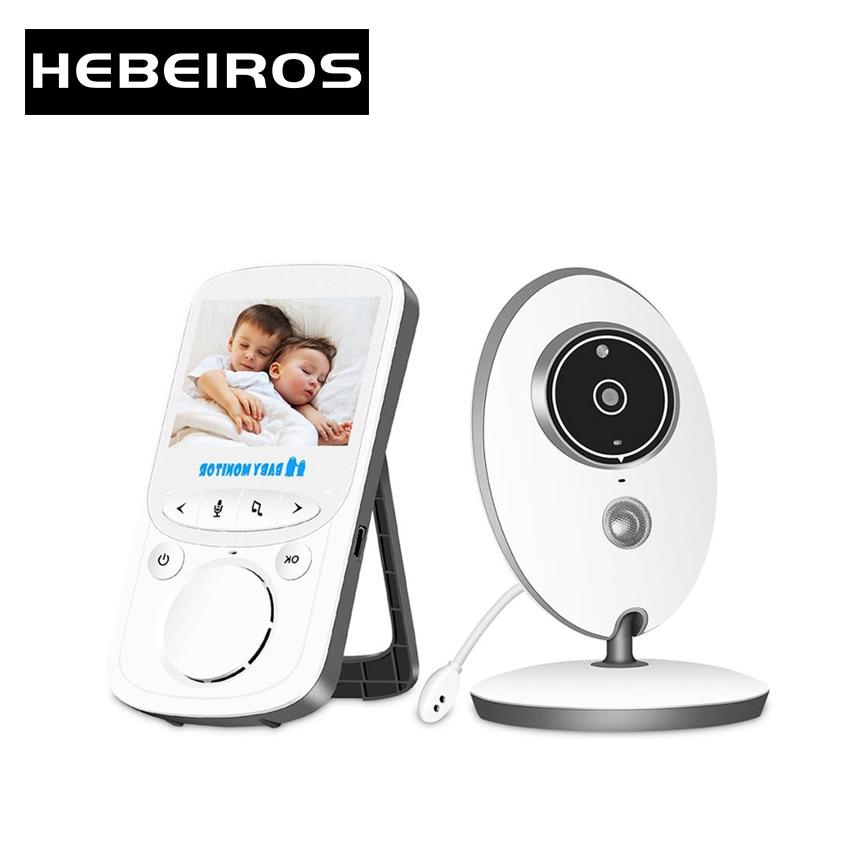 Hebeiros-جهاز مراقبة الطفل بالفيديو اللاسلكي ، جهاز مراقبة الطفل بالفيديو والصوت ، شاشة LCD 2.4 بوصة ، راديو VB605 ، كاميرا أمان للأطفال تعمل بالأشعة ت...