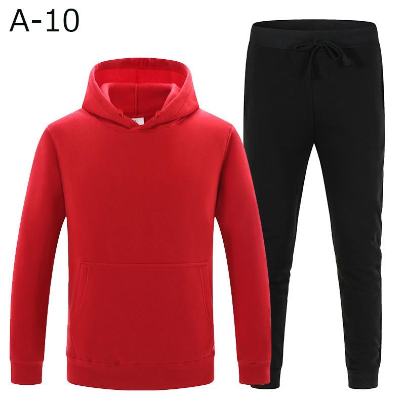 Men 's Sets Drop Shipping Hoodies Pants Harajuku Sport Suits Casual Anime Hoodie set Sweatshirts Tracksuit Plus 3XL