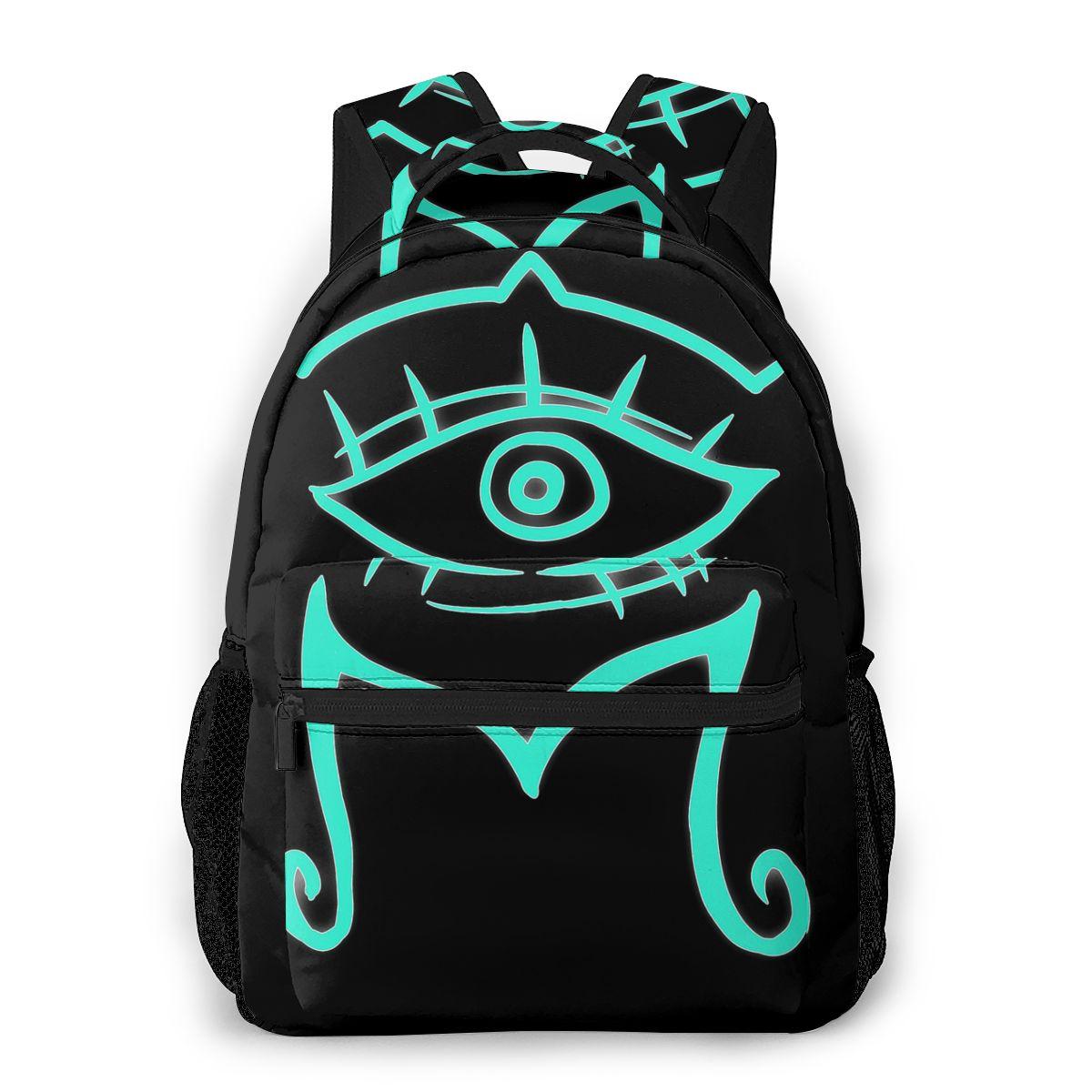 Bolsos escolares Mystic Messenger, mochila bonita de menta para hombres y mujeres