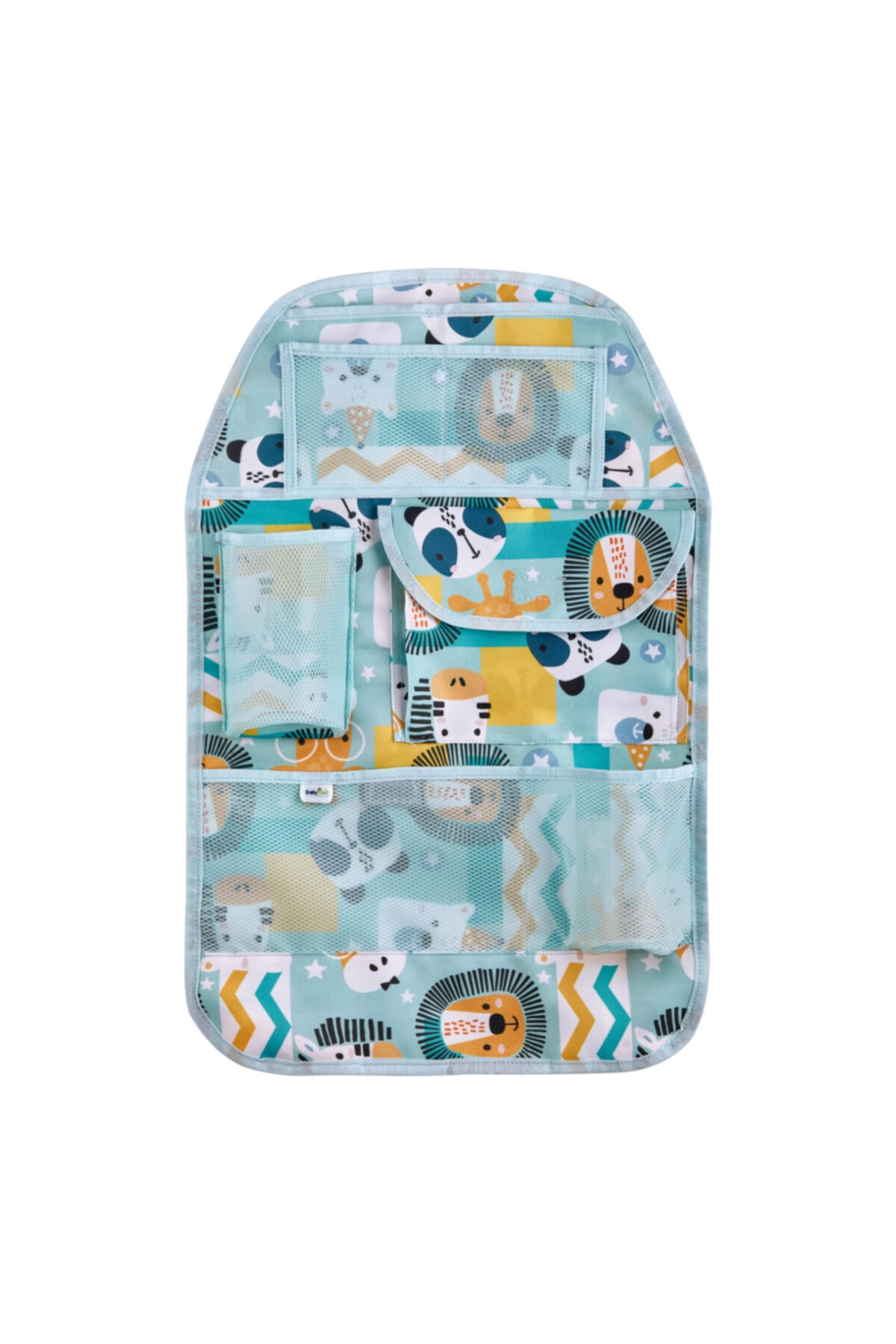 Car Back Seat Organizer For Kids Children Baby Blue Pattern
