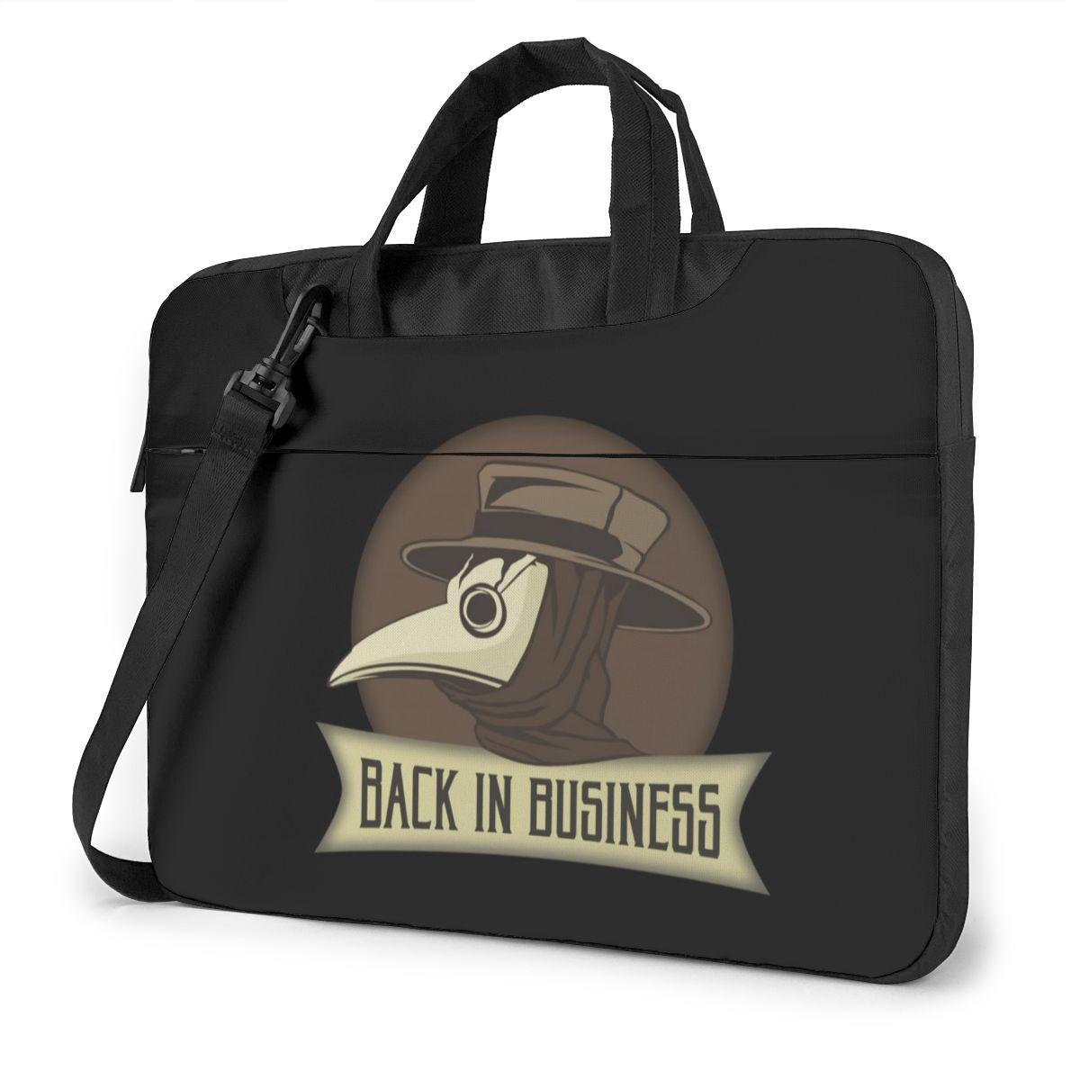 طبيب الطاعون حقيبة لابتوب حقيبة سفر رسول حقيبة حاسوب واقية Kawaii محمول الحقيبة