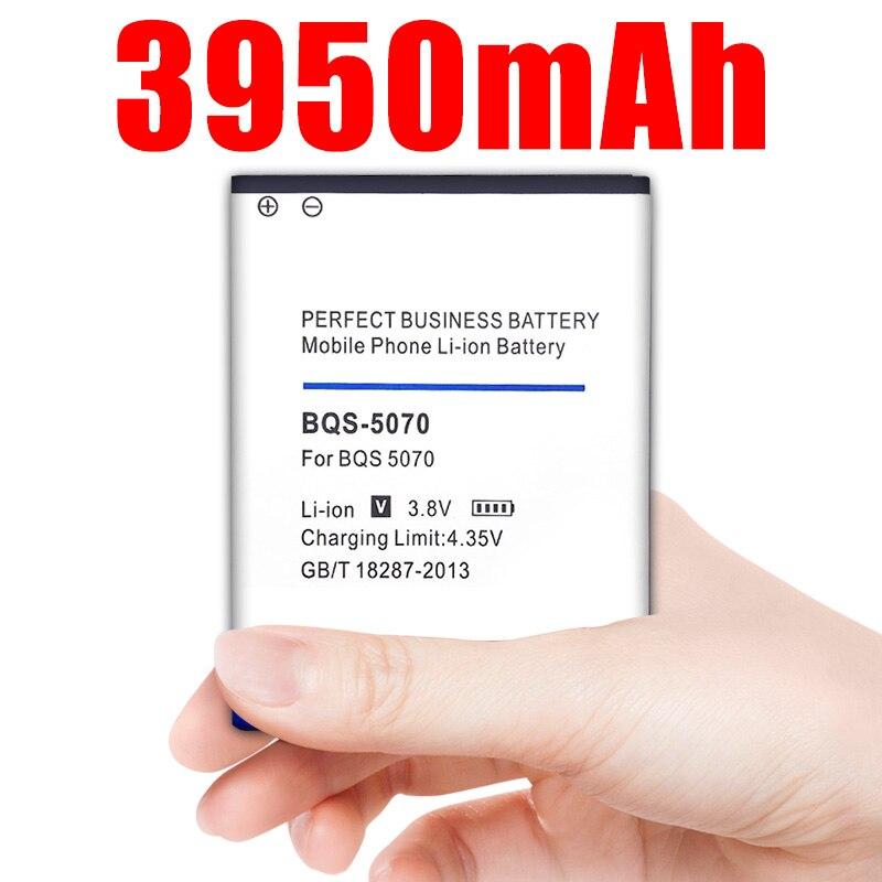 BQS-5070 3950mAh batería de reemplazo para BQ móvil BQS 5070 BQS5070 magia Nous NS 5004 baterías de teléfonos móviles