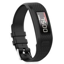 Replacement Soft Silicone Wrist Watch Band Strap for garmin Vivofit 1/2 Bracelet  J12 21 Dopshipping