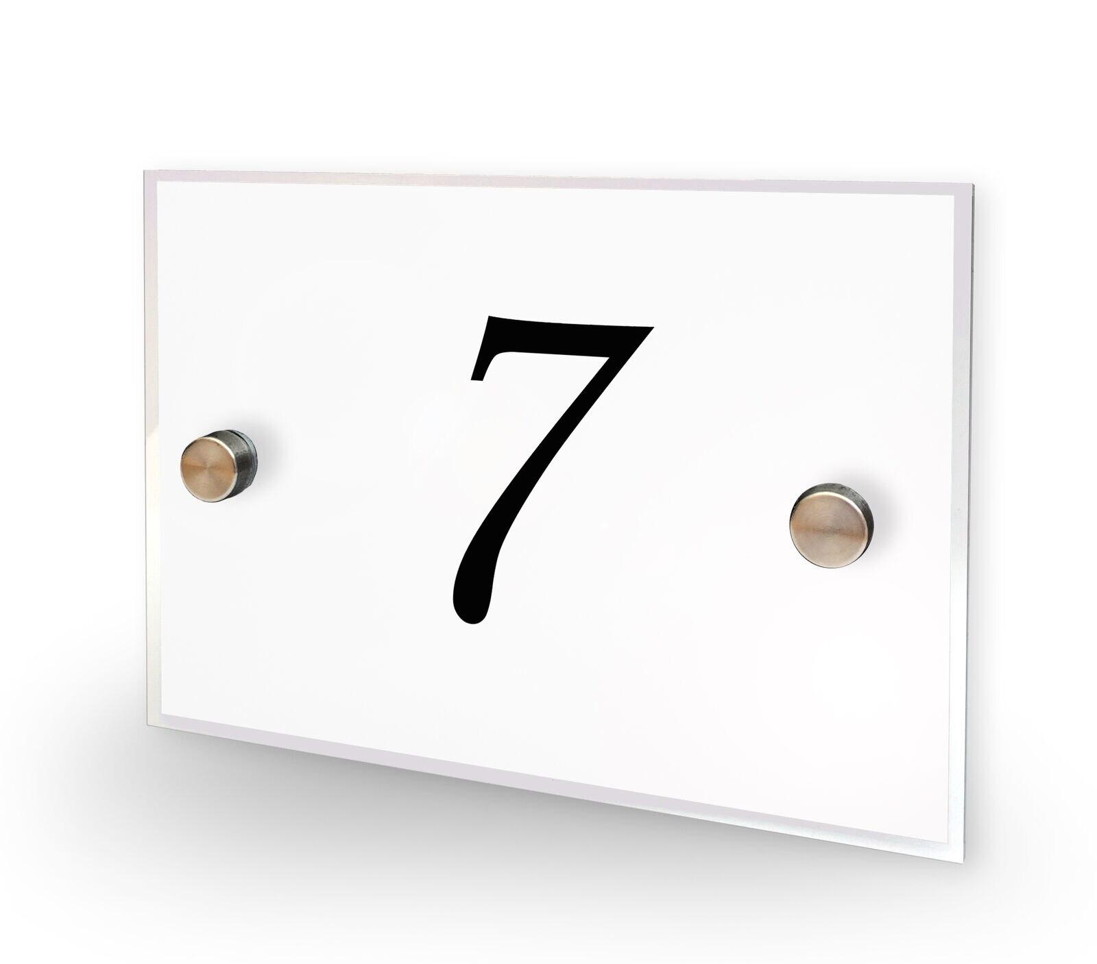 DIY منزل رقم المنزل رقم 7 منزل تسجيل البلاك عنوان المعاصرة نمط لا 7