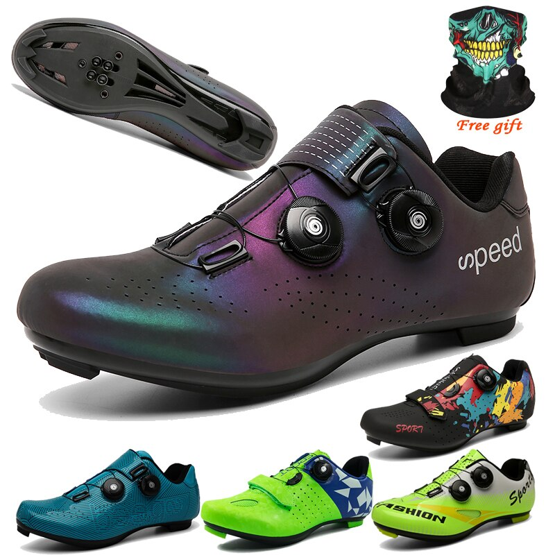 Professional Road Bicycle Shoes MTB Cycling Shoes Men Self-Locking Luminous mtb Shoes sapatilha ciclismo mtb Spin bike sneakers