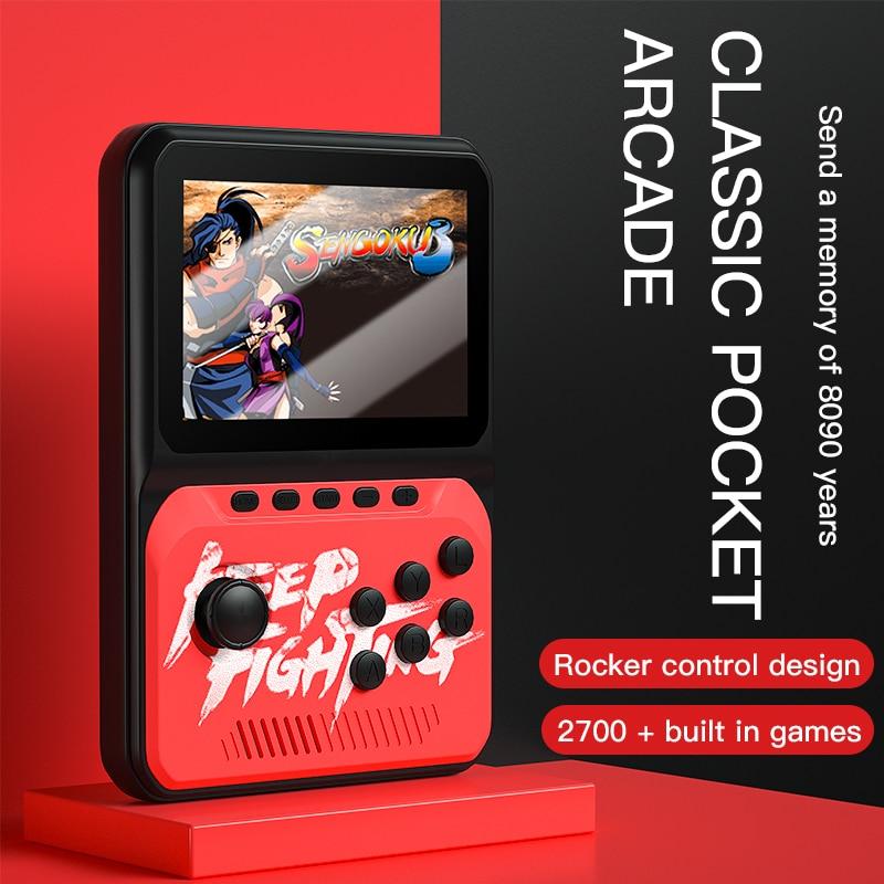 Мини-джойстик портативный в ретро стиле, 16 бит, 8 ГБ, 2021 дюйма, 3,5 встроенных игр