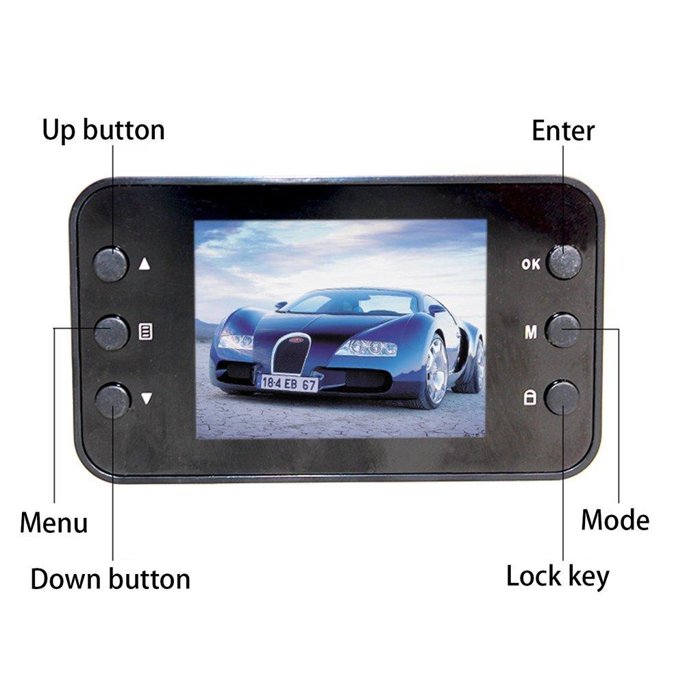 2018 K6000 Car DVR 1080P Full HD Video Recorder Dashboard Camera LED Night Vision Video Registrator Dashcam Support TF Card