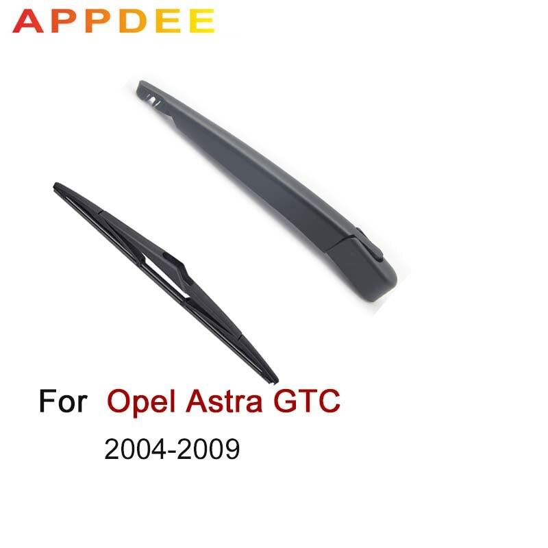 Limpiaparabrisas trasero APPDEE de 9 pulgadas y kit de juego de brazo para Opel Astra GTC H 3 puertas Hatchback 04-09 parabrisas ventana trasera