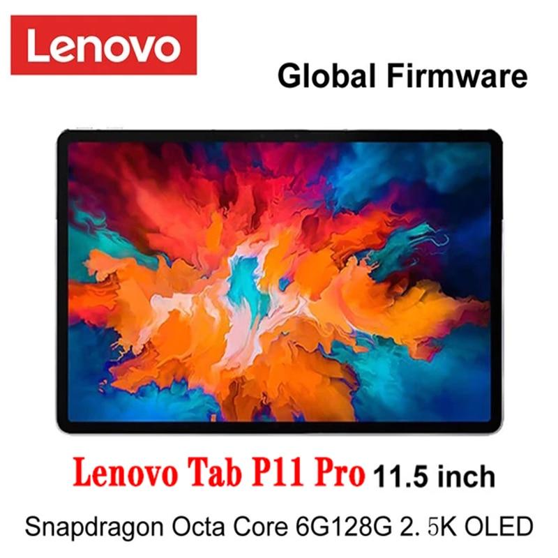 Globale Firmware Lenovo Tab P11 Pro Snapdragon 730 Octa Core 6GB Ram 128G Rom 11,5 zoll 2,5 K OLED Bildschirm 8500mAh tablet android 10