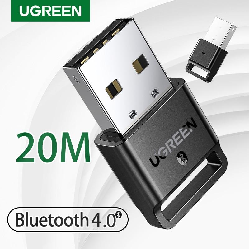 Ugreen USB Bluetooth Transmitter Receiver 4.0 Adapter Dongle aptx Wireless Headphone PC Music Receptor Audio Bluetooth Adaptador