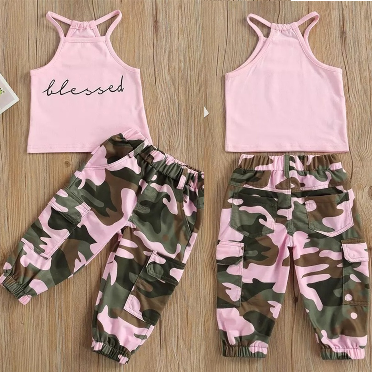 Summer Children Suits for Girls Sets for Baby 2pcs Clothes T-shirt + Pants Sets Toddler Girl Clothing Sets 1-5 Years Sport Suits