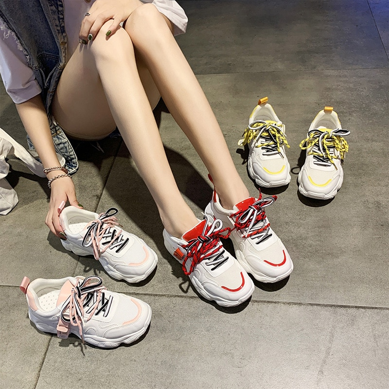 Old Daddy Shoes Ladies Sneakers 2021 New Korean Version of Harajuku Casual Shoes Women's Shoes