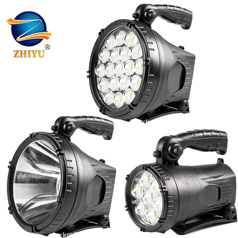 أقوى LED المحمولة الأضواء مصباح يدوي الكشاف مع P90 حبيبات مصباح مستديرة متفاوتة الأحجام مناسبة للتخييم في الهواء الطلق Lampe Led الشعلة