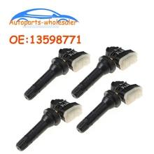 4 pcs/lot Car Accessories TPMS Sensor 13598771 13598772 For ACDelco TPMS Tire Pressure Sensor Monito