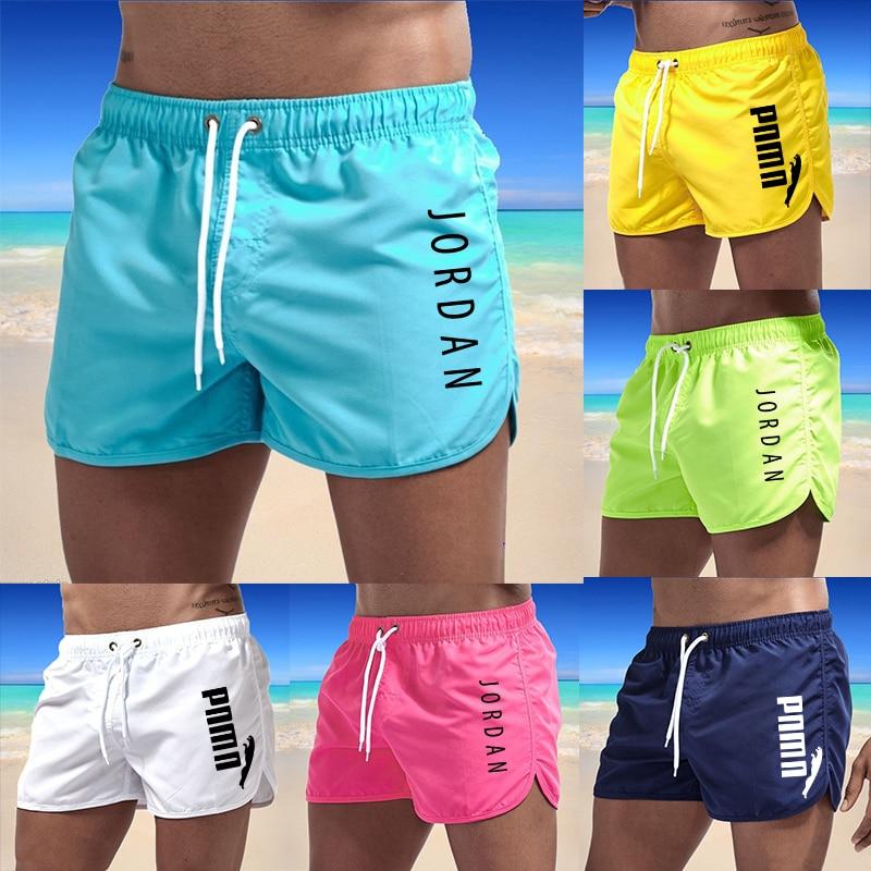 Брендовая мужская одежда для плавания летние шорты с принтом пляжная