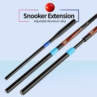 aluminum alloy material adjustable extensions 47 76 5cm72 101cm snooker cue extension german brass joint billiard accessories
