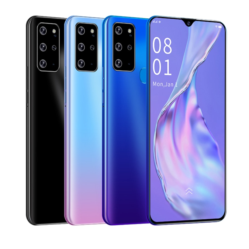 Nuevo galaxia A21s 8G + 256G del teléfono móvil 4000mAh móvil Android Octa Core Dual SIM 6,3 pulgadas Smartphone teléfono barato libre shi