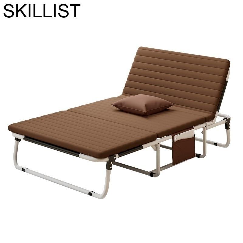 Sofá plegable para Patio, cama De salón, muebles De exterior, tumbona, tumbona