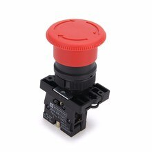 ZB2-BE102C P172 Rot NC 22mm Notfall Stop Mushroom Push button schalter XB2-ES542 Control elektrische starter schalter 220V 10A