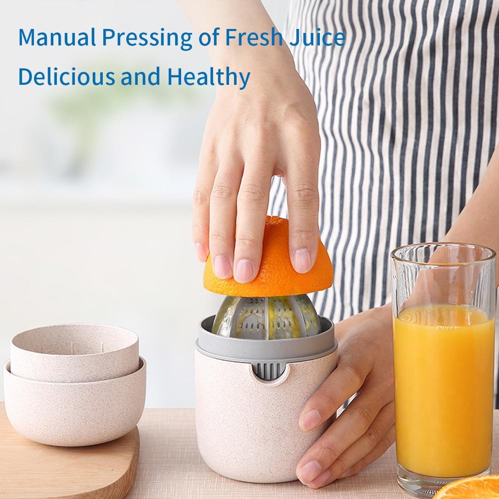 Купить с кэшбэком NTONPOWER 400ml Citrus Juicer Portable Manual Orange Juicer for Lemon Fruit Squeezer Juice Child Healthy Life Juicer Machine