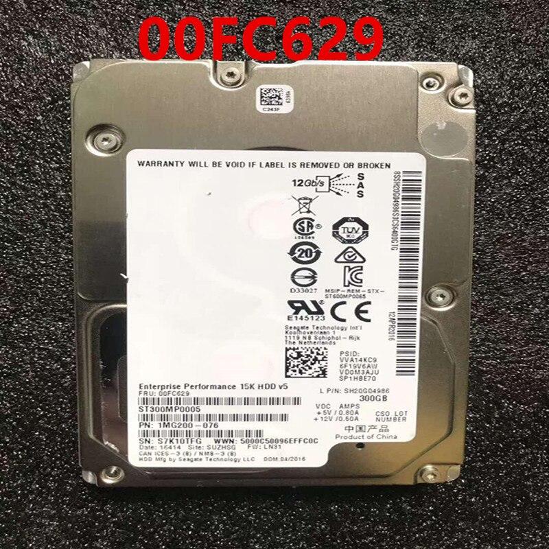 قرص صلب جديد 90% لأجهزة Lenovo RD550 300GB 3.5