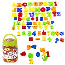 80PCS Magnetic Fridge Magnet Kawaii Kids Children Letter Number Symbol Stickers Early Education Toys for Birthday Christmas Gift