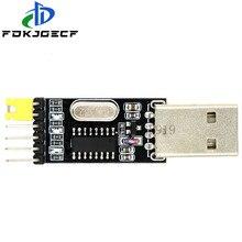 10 unids/lote USB a TTL convertidor módulo UART CH340G CH340 3,3 V 5V