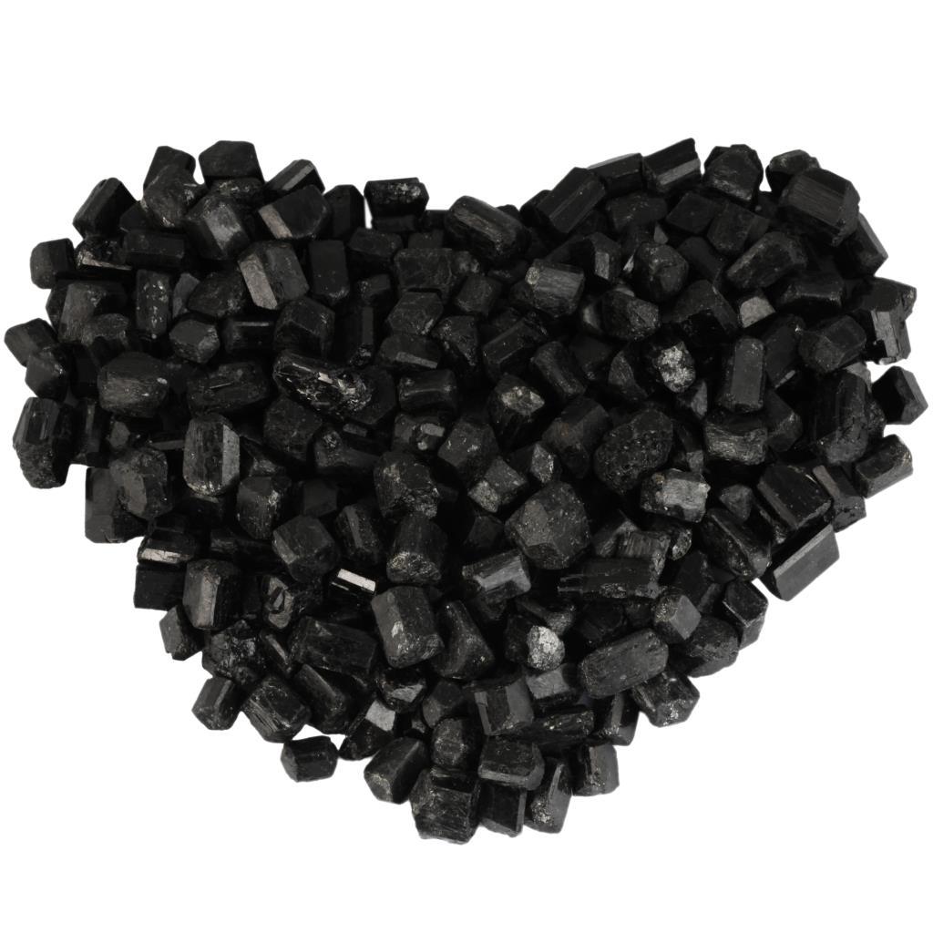 TUMBEELLUWA الريكي غير النظامية الأسود التورمالين رقائق المعدنية الحصى عينة غرفة ديكور خزان بونساي الديكور