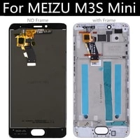 for meizu m3s mini lcd display touch screen with frame digitizer assembly replacement 5 0 inch y685h
