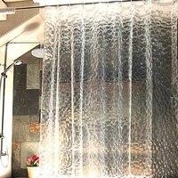Rideau de douche de salle de bains  1 8x1 8m  impermeable  3D  epais  anti-moisissure