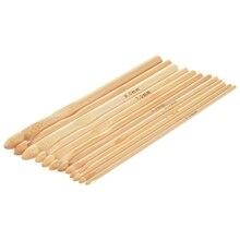 12x15 cm szydełkowe haczyki szydełka o grubości 3-10mm Bamboo