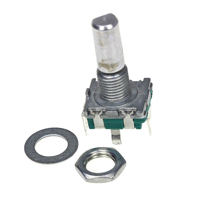 1/2/5 uds rotativa Encodor ciruela manejar Digital potenciómetro con interruptor EC11 QJY99