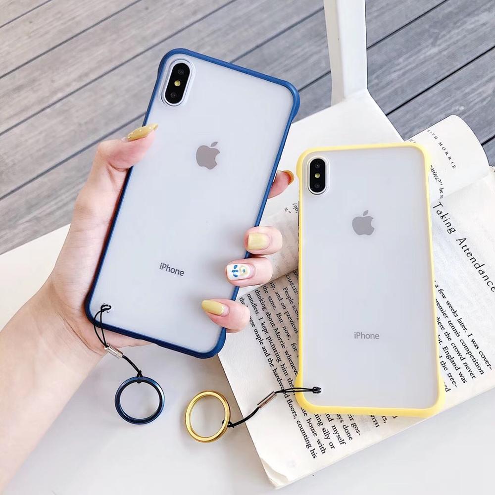 IphoneXR ためケース衝撃落下透明なしボーダーフックため Iphone7 7P XR と IphoneXSMAX と X