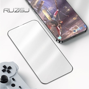 RUZSJ Full Cover Matte Tempered Glass On For iPhone 13 Pro Max Screen Protector For iPhone 13 Mini Protective  Fog surface Glass