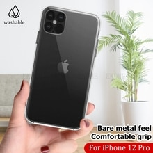 Case For iPhone 12 11 pro max XS Max 5 6s 7 8 plus SE 2020 Back Cover Silicone Soft Ultra Thin Clear