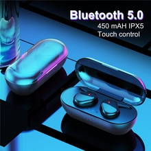 TWS 5.0 with Mic Headphones Y30 4D Stereo Noise Cancelling Earbuds Wireless Bluetooth gaming headset