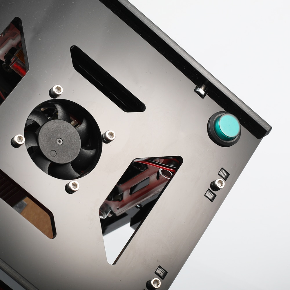 NEJE KZ 10W Mini CNC Laser Engraving Machine Class Ⅳ Smart High Energy Power Light AI DIY Print Carving Engraving Machine EU US enlarge
