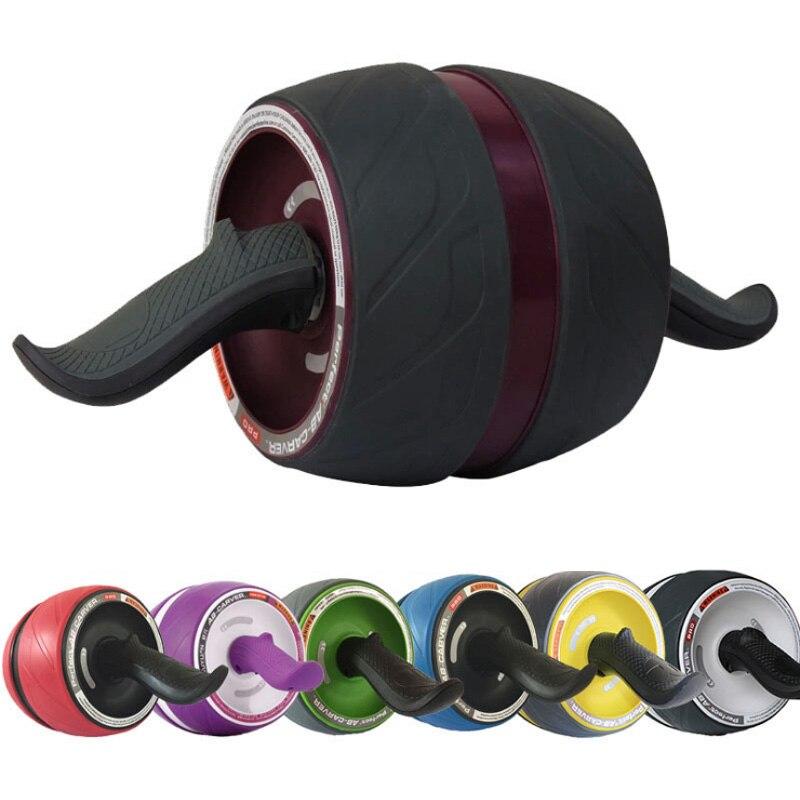 Colección de muscle Abdominal rueda de cintura estrecha rodillo de rueda de abdomen rueda gigante AB mute artículos deportivos equipo de fitness