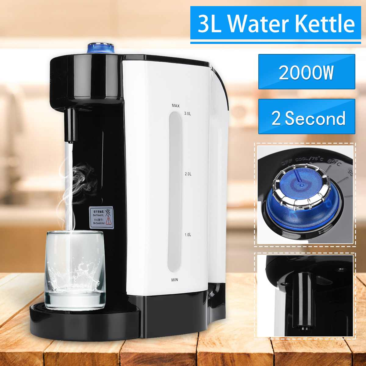 Kettle Electric Electric kettles home kitchen appliances kettle make tea Thermo Electric Air Pots El